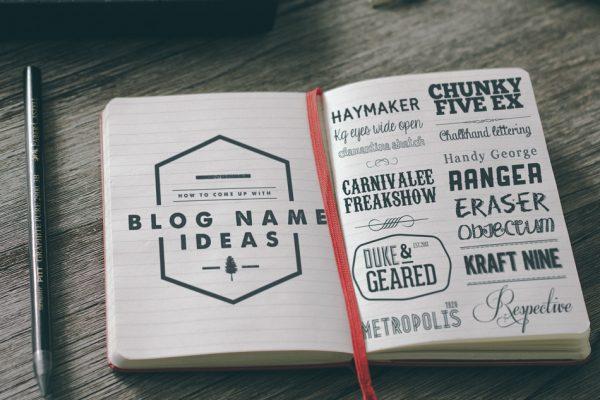 ¿Quieres crear un blog y no sabes que nombre ponerle? Estos son 4 tips para inspirarte